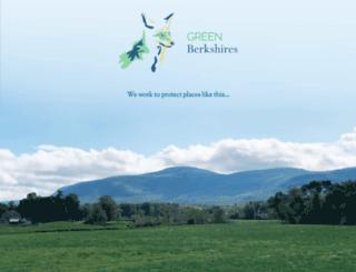 greenberkshires.com screenshot