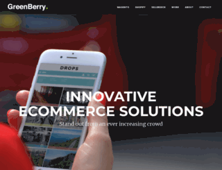 greenberrymedia.com screenshot