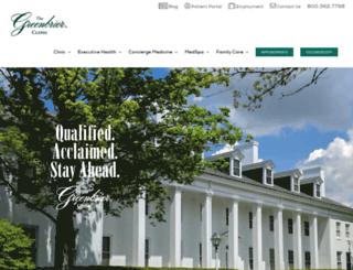 greenbrierclinic.com screenshot