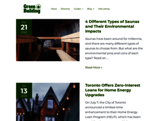 greenbuildingcanada.ca screenshot