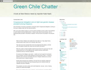 greenchilechatter.blogspot.com screenshot