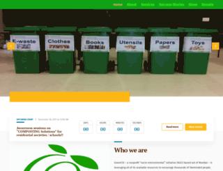 greenciti.org screenshot