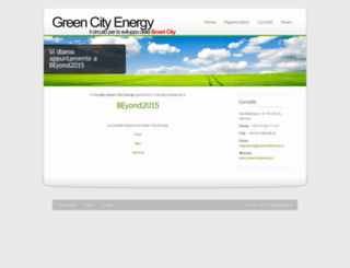greencityenergy.it screenshot