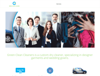 greencleanoc.com screenshot
