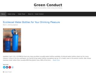 greenconduct.com screenshot