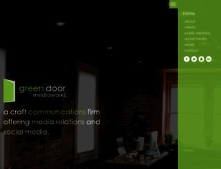 greendoormediaworks.com screenshot
