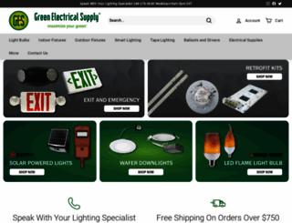 greenelectricalsupply.com screenshot
