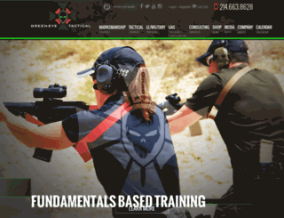 greeneyetactical.com screenshot