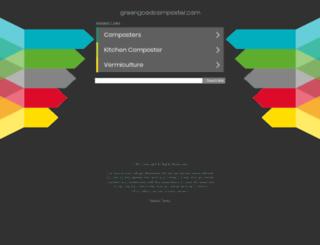 greengoodcomposter.com screenshot