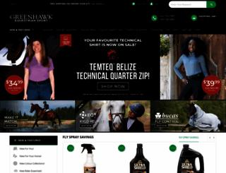 greenhawk.com screenshot