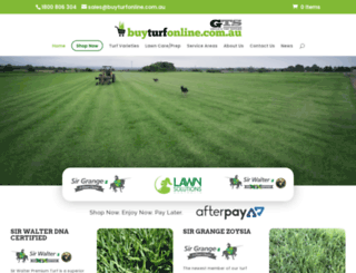 greenlawnturf.com.au screenshot