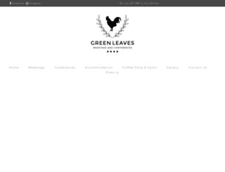 greenleaves.co.za screenshot