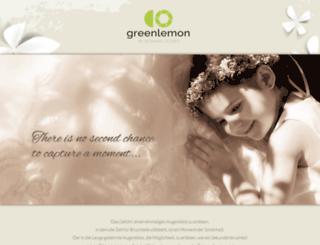 greenlemon.at screenshot