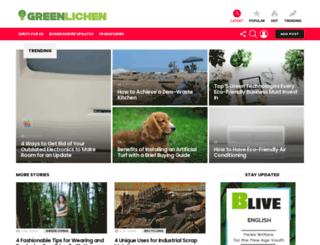 greenlichen.com screenshot