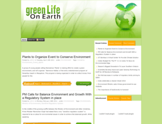 greenlifeonearth.mylovetechnology.com screenshot