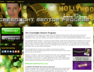 greenlightmentorprogram.com screenshot