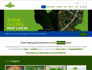 greenmap.com screenshot