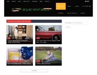 greenmomsnetwork.com screenshot