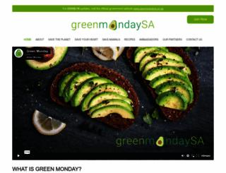 greenmonday.co.za screenshot