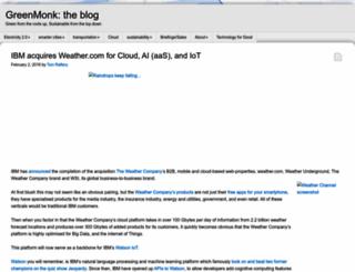 greenmonk.net screenshot