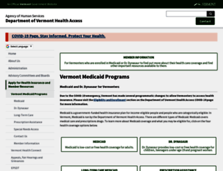 greenmountaincare.org screenshot