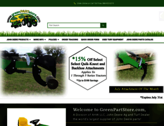 greenpartstore.com screenshot