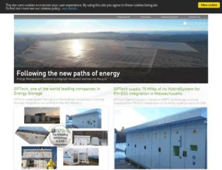 greenpower.es screenshot