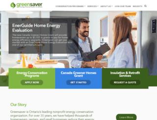 greensaver.org screenshot