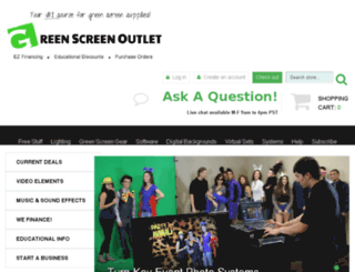 greenscreensystems.com screenshot