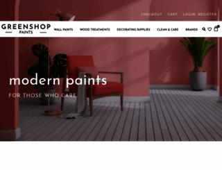 greenshop.co.uk screenshot