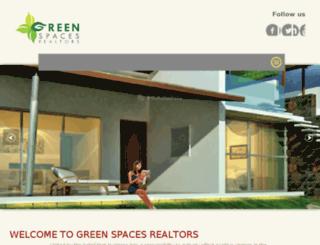 greenspacesrealtors.com screenshot