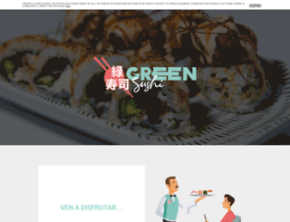 greensushi.es screenshot