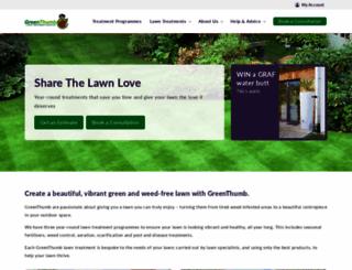 greenthumb.co.uk screenshot