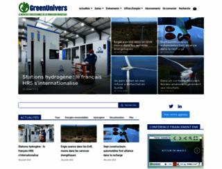 greenunivers.com screenshot