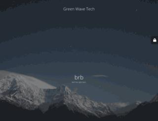 greenwavetech.co.za screenshot