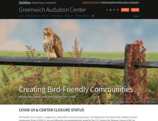 greenwich.audubon.org screenshot