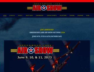 greenwoodlakeairshow.com screenshot