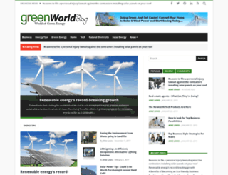 greenworldblog.com screenshot
