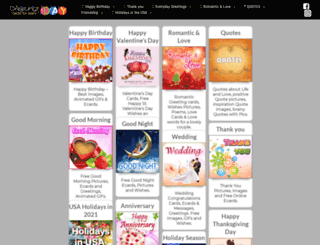 greetings-day.com screenshot