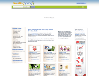 greetingspring.com screenshot