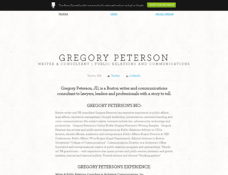 gregorypeterson.brandyourself.com screenshot