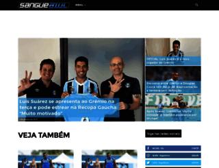 gremista-sangueazul.com screenshot