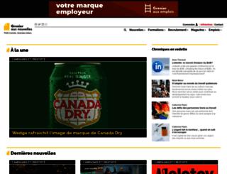 grenier.qc.ca screenshot