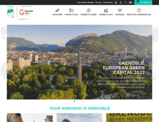 grenoble-tourisme.com screenshot