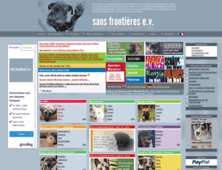 grenzenlose-hundehilfe.de screenshot
