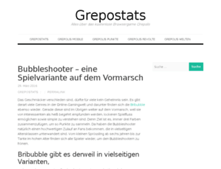 grepostats.de screenshot