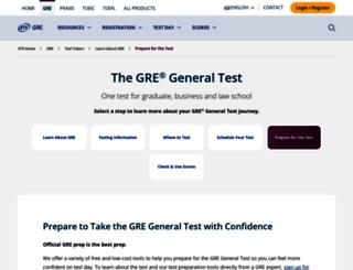 greprepclub.com screenshot