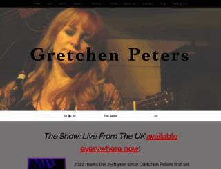 gretchenpeters.com screenshot