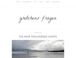 gretchensfragen.com screenshot