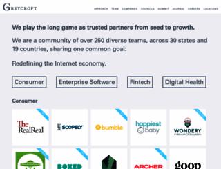 greycroft.com screenshot